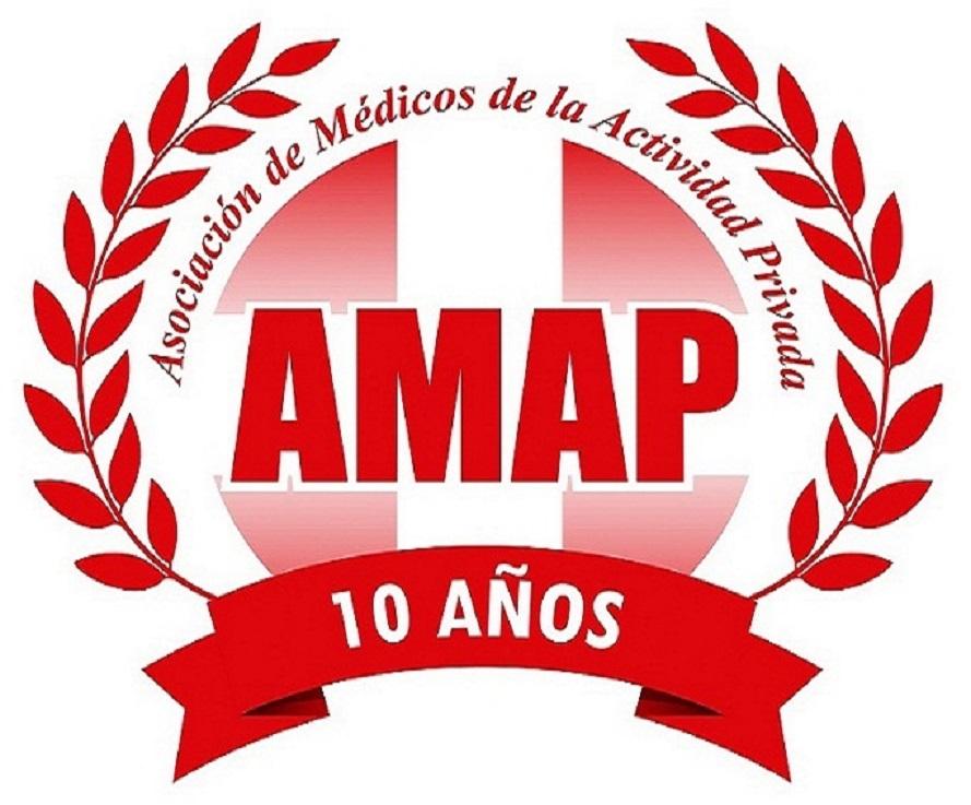 La Asociación de Médicos de la Actividad Privada (AMAP) aclara que no participará de ninguna movilización que pueda ser convocada en ocasión de esta medida gremial.