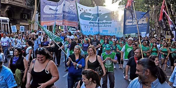 La CTA Autónoma convoca a una Jornada Nacional de Lucha con Paros y Movilizaciones en todo el país, este 27 de septiembre.