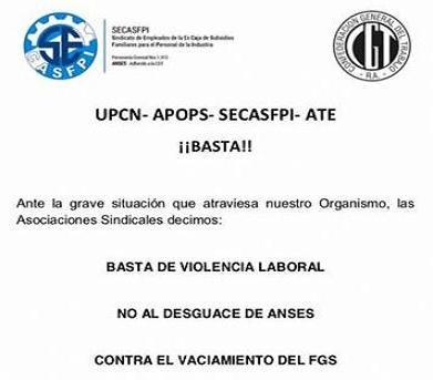 """Todos los gremios de ANSES convocan a un paro y movilización contra el """"desguace"""" de la institución para el martes 20 de diciembre en todo el país."""